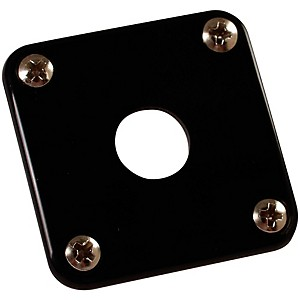 Gibson-Jack-Plate-with-Screws-Black