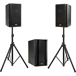 QSC-K8---Ksub-Powered-Speaker-Package-Standard