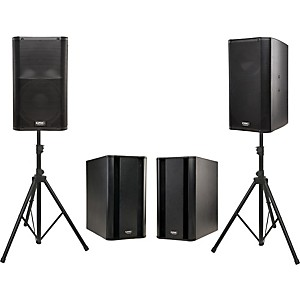 QSC-K12-Powered-Speaker-Dual-Sub-Package-Standard