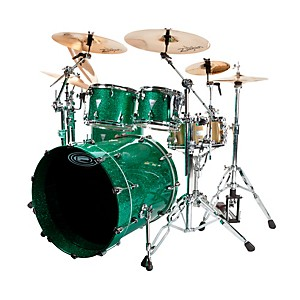 Orange-County-Drum---Percussion-Newport-4-Piece-Shell-Pack-Green-Sparkle