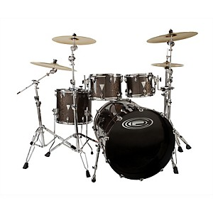 Orange-County-Drum---Percussion-Newport-4-Piece-Shell-Pack-Black-Gold-Glitter