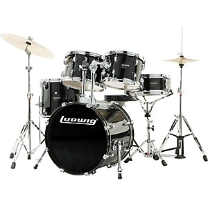 Ludwig-Accent-CS-Combo-Exclusive-Drumset-Black