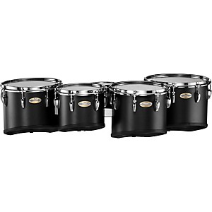 Pearl-PMTC-68023-Championship-Carbonply-Marching-Quint-Tom-Set--301-Carbon-Fiber-Matte-6-X-8