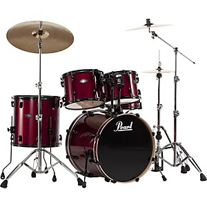 Pearl-VB-Vision-Birch-5-Piece-Shell-Pack-Red-Wine