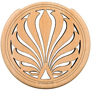 The-Lute-Hole-Company-4--Soundhole-Covers-for-Feedback-Control-in-Maple-or-Walnut-Maple-Heavy