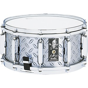 Tama-Lars-Ulrich-Diamond-Plate-Steel-Snare-Drum-14x6-5-14x6-5-Inches