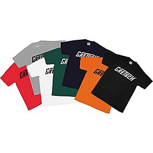 Gretsch-T-Roof-Guitar-Logo-T-Shirt-Black-Extra-Extra-Large