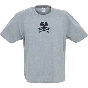 Gear-One-Pirate-Skull-T-Shirt-Gray-Extra-Large