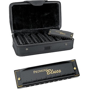 Hohner-Piedmont-Blues-7-Harmonica-Pack-with-Case-Standard