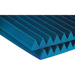 Auralex-2--Studiofoam-Wedge-2-x4-x2--Panels--12-Pack--Blue