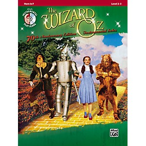 Alfred-The-Wizard-of-Oz-70th-Anniversary-Edition-Instrumental-Solos--Horn-in-F--Songbook-CD--Standard