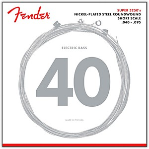 Fender-5250XL-Nickel-Plated-Steel-Short-Scale-Bass-Strings---Extra-Light-Standard