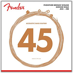 Fender-7060-Phospor-Bronze-Acoustic-Bass-Strings-Standard