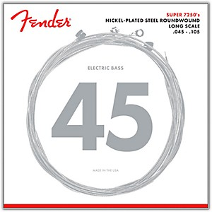 Fender-7250M-Super-Bass-Nickel-Plated-Steel-Long-Scale-Bass-Strings---Medium-Standard
