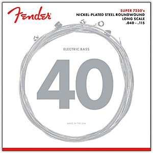 Fender-7250-5L-Super-Bass-Nickel-Plated-Steel-Long-Scale-5-String-Bass-Strings---Light-Standard