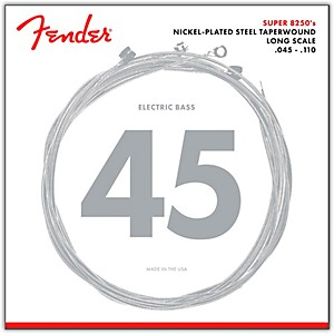 Fender-8250M-Nickel-Plated-Steel-Taperwound-Bass-Strings---Medium-Standard