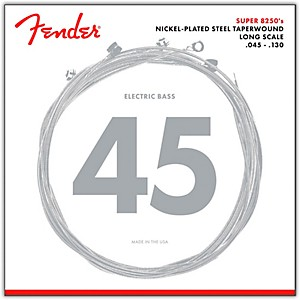 Fender-8250-5M-Nickel-Plated-Steel-Taperwound-5-String-Bass-Strings---Medium-Standard