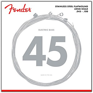 Fender-9050L-Stainless-Steel-Flatwound-Long-Scale-Bass-Strings---Light-Standard