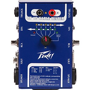 Peavey-CT-10-Cable-Tester-Standard