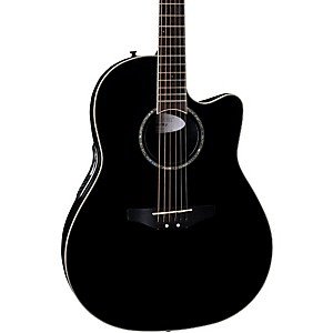 Ovation-iDea-Celebrity-Acoustic-Electric-Guitar-with-Built-In-MP3-Recorder-Black