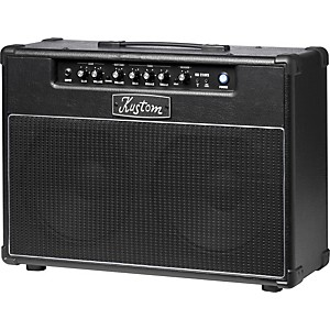Kustom-KG210FX-20W-2x10-Guitar-Combo-Amp-with-Digital-Effects-Black