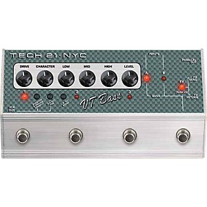 Tech-21-SansAmp-Character-Series-VT-Bass-Deluxe-Distortion-Effects-Pedal-Standard