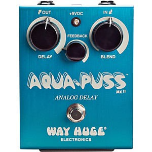 Way-Huge-Electronics-Aqua-Puss-MkII-Analog-Delay-Guitar-Effects-Pedal-Standard