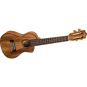 Lanikai-SMP-CCA-Solid-Monkey-Pod-Concert-Cutaway-Acoustic-Electric-Ukulele-Natural