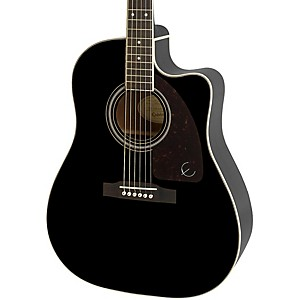 Epiphone-AJ-220SCE-Acoustic-Electric-Guitar-Ebony