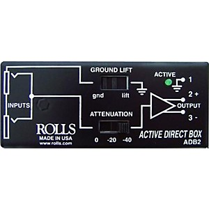 Rolls-ADB2-Phantom-Direct-Box-Standard