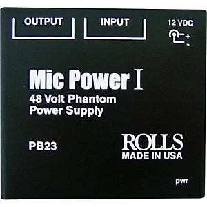 Rolls-PB23-Phantom-Power-Adapter-Standard