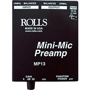 Rolls-MP13-Mini-Mic-Preamp-Standard