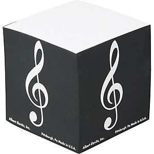 Gear-One-G-Clef-Memo-Cube-Standard