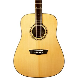 Washburn-WD-10S-Dreadnought-Acoustic-Guitar-Natural