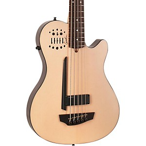 Godin-A5-Ultra-Natural-SA-5-String-Acoustic-Electric-Bass-Guitar-Natural-Rosewood-Fretboard