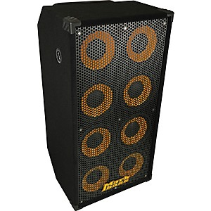 Markbass-Standard-108HR-1200W-8x10-Bass-Speaker-Cabinet-Black-4-Ohm
