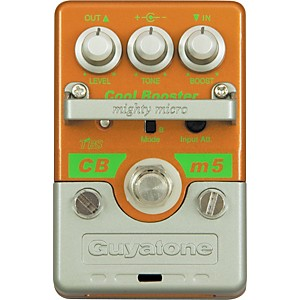 Guyatone-Mighty-Micro-Series-CBm5-Cool-Booster-Guitar-Effects-Pedal-Standard