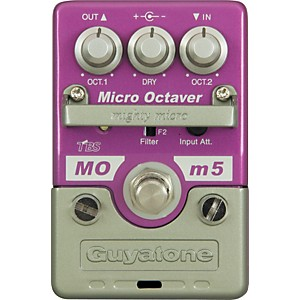 GUYATONE-Mighty-Micro-Series-MOm5-Micro-Octaver-Octave-Guitar-Effects-Pedal-Standard
