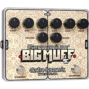 Electro-Harmonix-Germanium-4-Big-Muff-Pi-Overdrive-and-Distortion-Guitar-Effects-Pedal-Standard