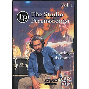 LP-The-Studio-Percussionist-Vol--1-featuring-Luis-Conté-DVD-Standard