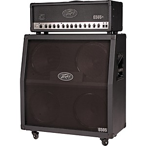 Peavey-6505-Plus-and-4x12-Half-Stack-Angled