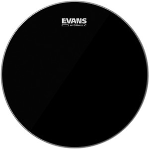 Evans-Hydraulic-Black-Tom-Batter-Drumhead-10-IN
