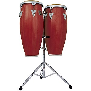 LP-LPA646-Aspire-Conga-Set-with-Double-Stand-Dark-Wood