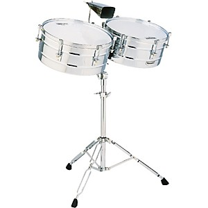 LP-M257-Matador-Series-14--and-15--Steel-Shell-Timbales-Set-Standard