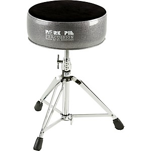 Pork-Pie-Round-Drum-Throne-Black-Sparkle