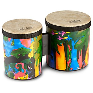 Remo-Kid-s-Percussion-Rain-Forest-Bongos-Standard