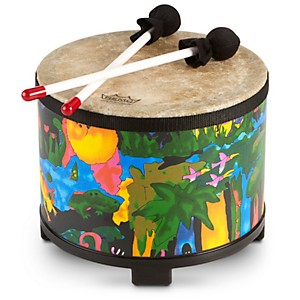 Remo-Kid-s-Percussion-Rain-forest-Floor-Tom-Standard