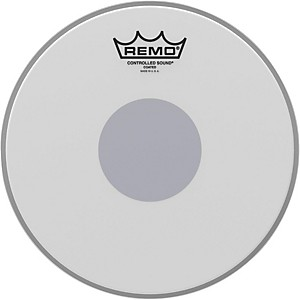 Remo-Controlled-Sound-Reverse-Dot-Coated-Snare-Head-10-Inches