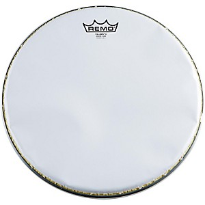 Remo-K-Falam-Smooth-White-Snare-Side-Drum-Head-13-Inch
