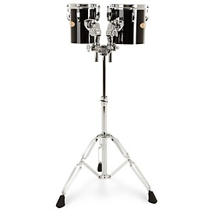Pearl-PTE0608-8--x-6--8--x-8--Concert-Tom-Set-Midnight-Black